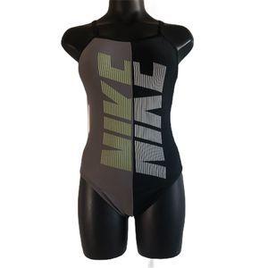 Nike NEW Racerback One Piece Swimsuit Size 32